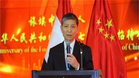 """السفير الصيني يُشيد بأغنية """"يدًا بيد"""" لريهام عبدالحكيم"""