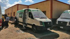 صحة دمياط: الكشف على 1400 مواطن في قافلة «كفر المنازلة»