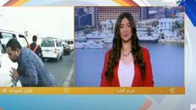مراسل قناة يتعرض لحادث تصادم على الهواء: «صدمه موتوسيكل» (فيديو)