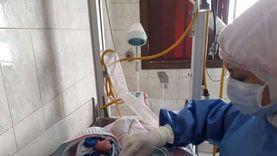 إجراء سابع ولادة قيصرية لمصابة بكورونا بمستشفى سوهاج العام