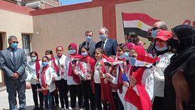 سفير الاتحاد الأوروبي يتفقد مشروعات تنموية ببورسعيد