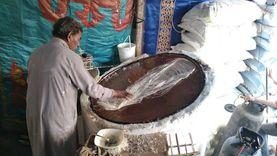 «البلدي يوكل»..فرن «عم منصور» تستحوذ على سوق الكنافة بالفيوم