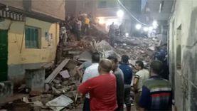 المحامي العام بطنطا يحقق بواقعة مصرع 8 أشخاص في انهيار منزل المحلة