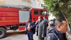 تفاصيل مصرع سيدة في حريق بمساكن شيراتون بالنزهة