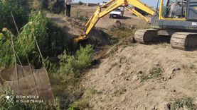 إزالة 17 مزرعة سمكية بإجمالى 59 فدانا فى جمعية العبور الزراعية