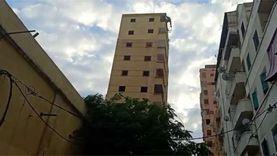 وحدات سكنية لأهالي عقار كرموز المائل