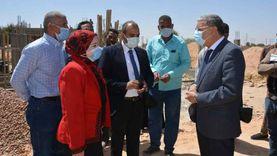 محافظ المنيا يتابع مع لجنة «حياة كريمة» تنفيذ مشروع تطوير الريف