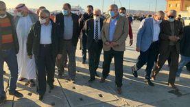 وزير الزراعة ومحافظ جنوب سيناء يتفقدان ميناء الصيد بمدينة الطور