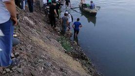 انتشال جثة طفل غرق في نيل القناطر