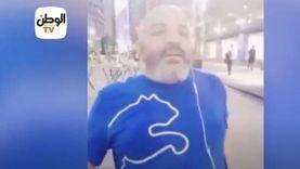 فيديو.. مصريون يلقنون الإخواني الهارب بهجت صابر درسا قاسيا