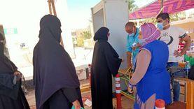 إقبال شديد على اللجان الانتخابية برأس سدر ونويبع بجنوب سيناء