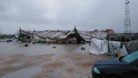 توابع الطقس السيئ.. إصابة 4 بانهيار شادر المركز التكنولوجي بالإسكندرية