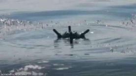 فيديو.. إتلاف لغم بحري إيراني زرعه الحوثيون في البحر الأحمر