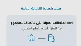 «التعليم» تعلن ضوابط امتحانات 3 ثانوي للمواد غير المضافة للمجموع