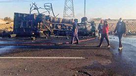 إجراءات تأهيل سائقي سيارات المواد المشتعلة بعد انفجار اسطوانات الغاز