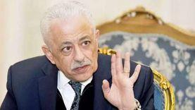 اخر تصريحات وزير التربية والتعليم اليوم.. «إدوا العيش لخبازه»