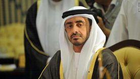 عبدالله بن زايد: اتفاق السلام مع إسرائيل يحقق الاستقرار في المنطقة