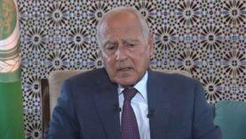 أمين عام الجامعة العربية: اتفاق الإمارات وإسرائيل أوقف ضم أراضي الضفة