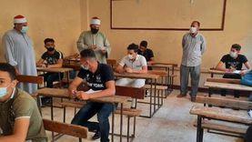 مدير منطقة الدقهلية الأزهرية يتفقد لجان الثانوية الأزهرية بإدارة نبروة