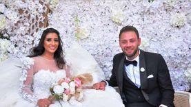 زفاف محمد علي رزق بحضور نجوم الفن (صور)