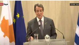 الرئيس القبرصي: ندعو إلى تسوية في ليبيا تحترم وحدتها وسيادتها