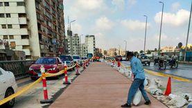 غلق جزئي لشارع البحر الأعظم في الإتجاه القادم من نفق عباس بالجيزة
