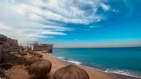 الإسكندرية قبل «نوة الكرم»: طقس مشمس وسماء خلابة وهدوء موج البحر