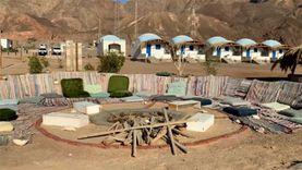 الفرعون الصغير «ازور لودج» مخيم على الطراز البيئي بمدينة طابا