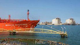 26988 طن حركة الصادر من البضائع العامة بميناء دمياط