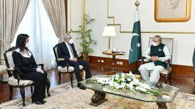 رئيس باكستان يستقبل السفير المصري ويثمن دور القاهرة السياسي