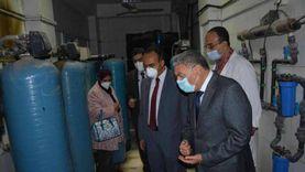 محافظ المنيا يجري جولات بالمستشفيات استعدادا للموجة الثانية من كورونا