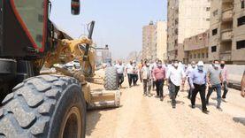وزير النقل يتابع أعمال تطوير الطريق الدائري حول القاهرة الكبرى