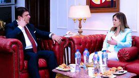 حسين زين يلتقي وزيرة الإعلام اللبناني لبحث سبل التعاون المشترك