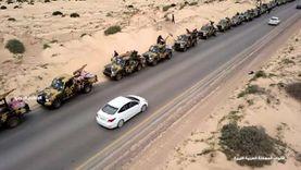عاجل.. الجيش الوطني الليبي يحرك قوة عسكرية إلى مدينة درنة لضبط الأمن