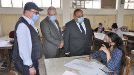 رئيس جامعة حلوان يعلن بدء اختبارات القدرات