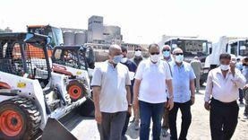 دعم منظومة النظافة بالشرقية بمعدات ولوادر وسيارات بـ15 مليون