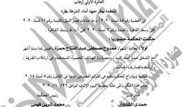 الجريدة الرسمية تنشر قرارا بإدراج ممدوح حمزة على قوائم الإرهاب