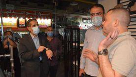 غلق 3 مقاهي وورشة لمخالفة الإجراءات الاحترازية والمواعيد في الغربية