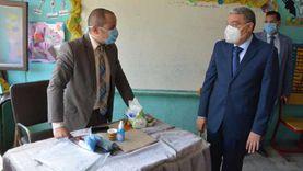 محافظ المنيا: إقبال كبير على لجان الانتخابات بعد انتهاء راحة القضاة