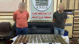 ضبط 60 طربة حشيش في الجيزة.. الداخلية تواصل ملاحقة تجار المخدرات