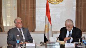 وزير التربية والتعليم يلتقي محافظ جنوب سيناء لمناقشة سبل تطوير التعليم بالمحافظة