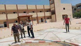 150 شجرة ضمن مبادرة «اتحضر للأخضر» لتشجير المدارس بشمال سيناء