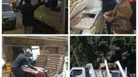 «الجيزة»: شن حملات لإزالة الإشغالات بشوارع المحافظة