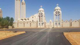 انتهاء أعمال رصف وتخطيط طريق دير الأنبا صموئيل في المنيا
