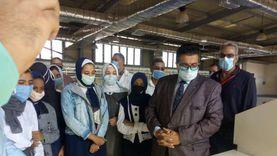 """""""تعليم جنوب سيناء"""" تبحث التوسع في تدريب طلاب """"الصنايع"""""""