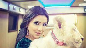 مي عمر تحمل أسد في كواليس «نسل الأغراب».. والجمهور: بقيتي نسخة من رمضان