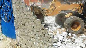 إزالة 110 حالات تعدٍ على الأراضي الزراعية وأملاك الدولة في سوهاج