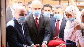 وزير العدل يفتتح مبنى محكمة شبين القناطر بعد تطويره