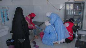 توقيع الكشف الطبي علي 173حالة في قافلة طبية بالشيخ زويد