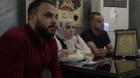 أرملة الشهيد عامر عبد المقصود.. قبلت الأقدام لمشاهدة فيديو التمثيل به